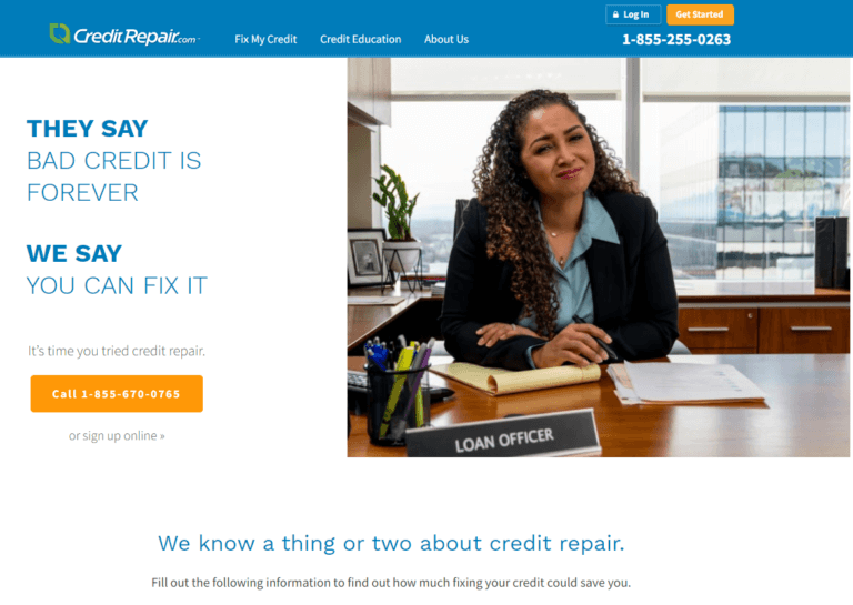 About th credit repair company