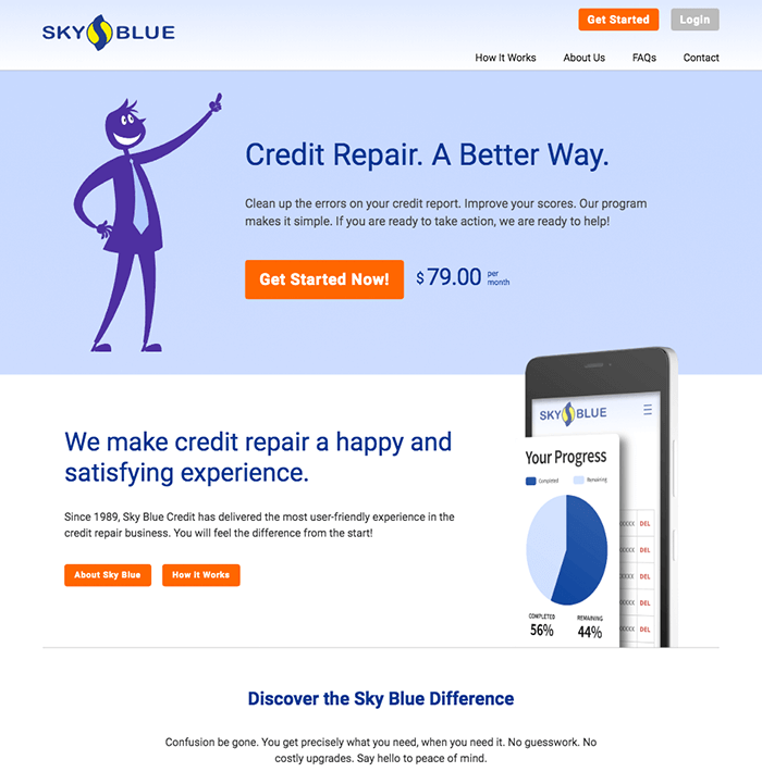 Overview of Skyblue Credit Repair program