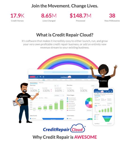 Indeph review of Credit Repair Cloud company