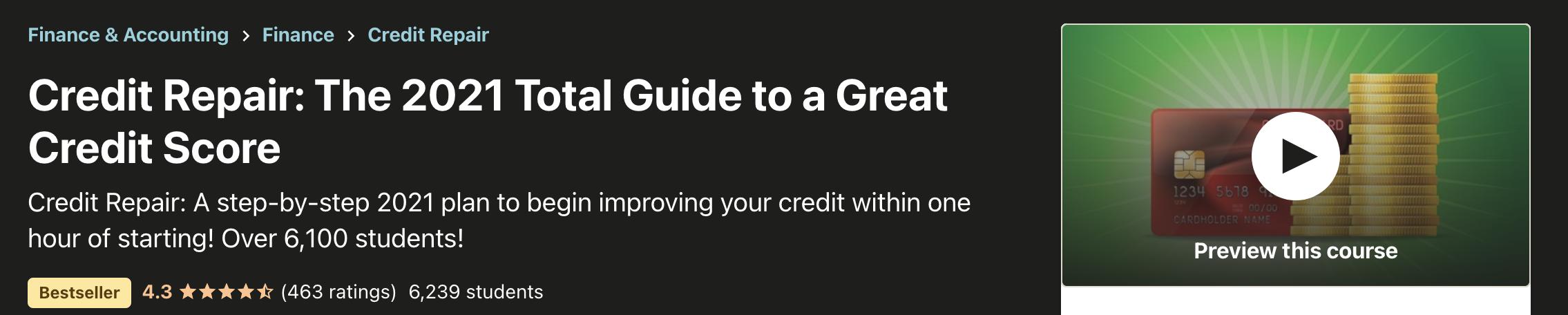 Total Guide To Credit Repair Control